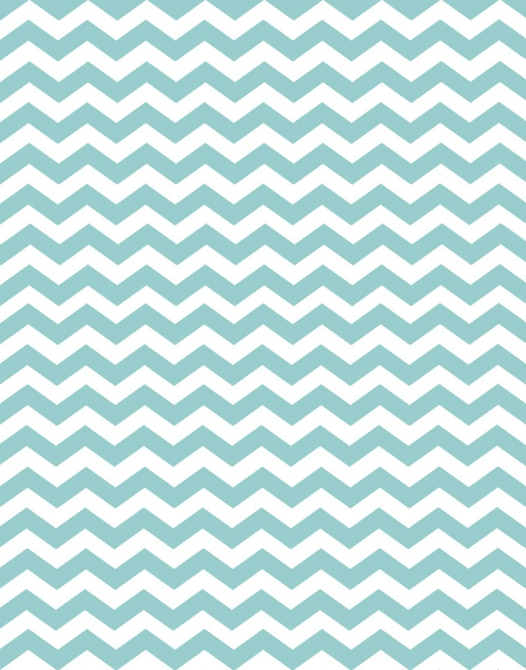 minty blue chevron-2
